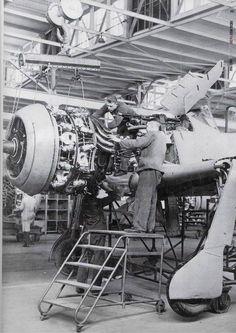 FW 190 A, BMW 801 Installation