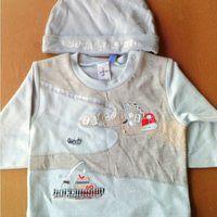 Hat & Long Sleeve T-Shirt Set (Set Topi & Kaos Lengan Panjang)