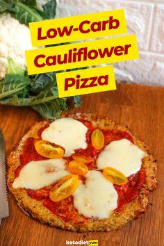 Best Keto Cauliflower Pizza Crust