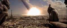 Paris wiped out by meteor strike....guess I won't be moving there anytime soon!