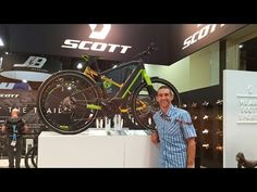 2017 Scott Electric Bikes at Interbike (E-Silence, E-Scale, E-Spark)