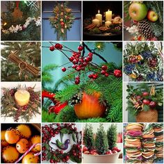 Natural Christmas Ideas - Essential Oils are excellent for creating a naturally scented atmosphere, but you can also use the plants themselves - scents such as Orange, Cinnamon or Clove make a wonderful Christmas blend and can be created using orange peels, dried clove buds and cinnamon quills - they look gorgeous too. #AromaQueen #aromatherapy #essentialoils #naturalfragrance