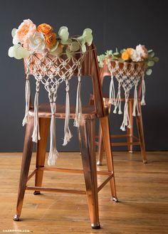 DIY Wedding Chairs