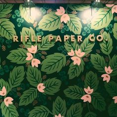 Anna Bond's Gorgeous Hand-Painted Mural...I totally want to DIY this!!!!