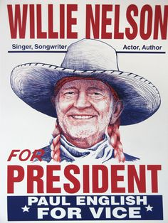 Willie for Pres. via i+w.