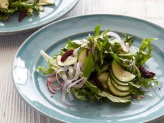 This simple Zucchini Salad is loaded with fresh flavor thanks to chopped fresh herbs and a tangy vinaigrette.
