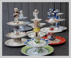 Diy Arts And Crafts, Crafts To Sell, Home Crafts, Diy Crafts, Teacup Crafts, China Crafts, Pinterest Diy, Diy Cake, Decoration Table