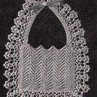 Ripple Baby Bib Vintage Crochet Pattern PDF Digital Download