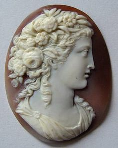 Large Unmounted Victorian Quality Carved Shell Cameo