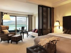 Lakeside Room @ The Europe Hotel Overlooking Killarney Lakes in County Kerry