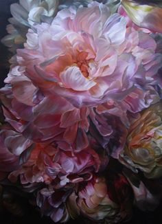 "Artist: Marcella Kaspar; Oil 2009 Painting ""Heart Strings_Florence…"