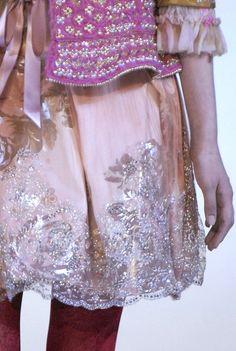 Christian Lacroix Haute Couture Fall 2006 (detail)