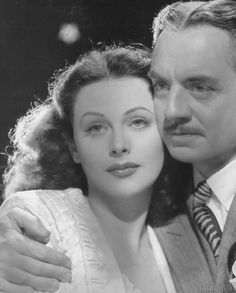 Hedy Lamarr and William Powell, The Heavenly Body, 1944