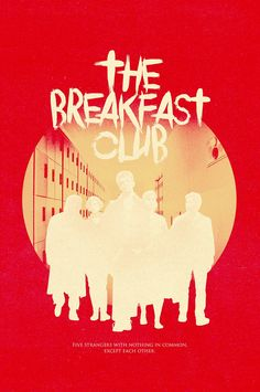 The Breakfast Club Movie Poster The Breakfast Club, Breakfast Club Quotes, Club Poster, Fan Poster, Funny Movies, 80s Movies, Iconic Movies, Cartoon Books, Famous Movie Quotes
