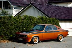 1973 Opel Manta Rally