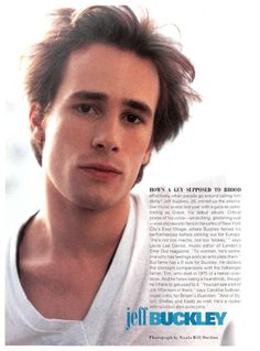 Jeff Buckley, People article
