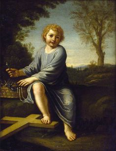 The Infant Christ with the Instruments of the Passion -= Italian (Bolognese) School