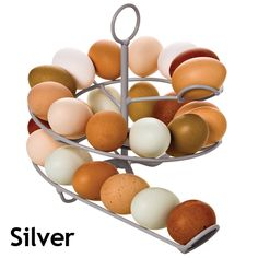 Egg Skelter – really for home-raised eggs—helps you eat your oldest eggs first!—but super cute regardless