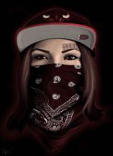 Hals Tattoo Mann, Tattoo Hals, Dope Cartoon Art, Dope Cartoons, Hacker Wallpaper, Girl Wallpaper, Body Art Tattoos, Girl Tattoos, Estilo Cholo