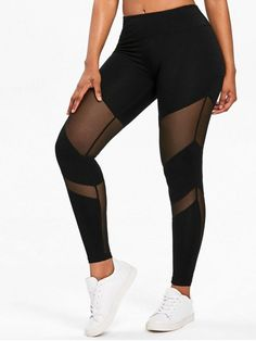Product Mesh Panel Gym Sports Leggings available for Zaful WW, get it now ! Camouflage Leggings, Mesh Leggings, Sports Leggings, Women's Leggings, Black Leggings, Printed Leggings, Cheap Leggings, Workout Leggings, Leather Leggings