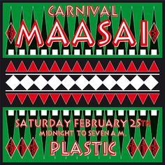 CARNIVAL MAASAI at PLASTIC