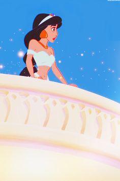 Aladdin - jasmin - disney wallpaper