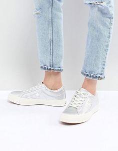 buy online d4779 cefde Chaussures et bottes pour femme en Promos   ASOS. Converse - One Star ox -  Baskets ...