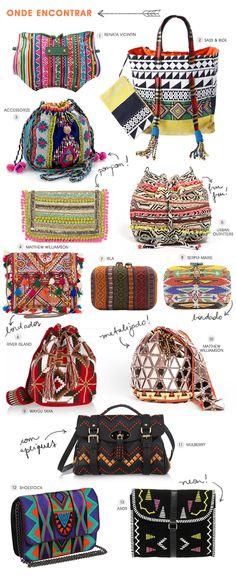 Bolsa | Étnica | Tribal