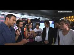 One Direction New York Premier Interview