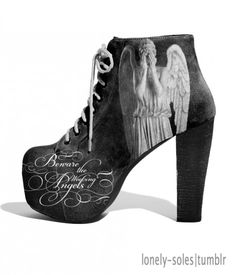 Now to get a weeping angel costume to match...