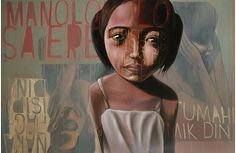 Lynyrd Paras, Isip Isip, oil on canvas, 183 x 122 cm, 2008