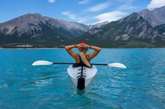 cool Picture of the Day: Kayaking in Nordegg, Canada