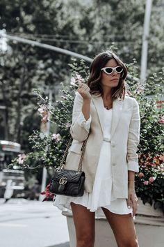 Yellow - Flaunt and Center Blazer Beige, Yellow Blazer, Linen Blazer, Casual Chic, Casual Look, Nyc Fashion, Fashion Outfits, Womens Fashion, Style Fashion