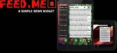 Feed.me, un widget de noticias vía Google News para tu móvil android
