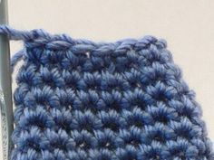 invisible decrease for crocheting. wow, you can't even see it and I can't believe I never knew this!!!