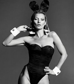 kate moss for playboy