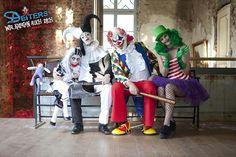 Clowns mal etwas anders... #Halloween #kostüme #familienkostüme #clowns #horror #es