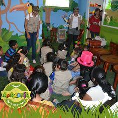 Tus pequeños exploradores se divertirán como nunca en Rockettolandia Amazonia! Los esperamos en sucursal El Paseo...
