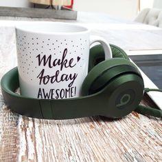 Quote mug & beats  various mug available | www.glorioussweets.com