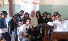 Jovenes de la Comunidad de Sta Brígida. Celebración de la Primera Comunion 2012