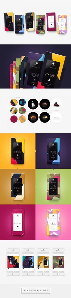 Moncloa Chocolates on Behance by Nelson Balaban Curitiba, Brazil curated by Packaging Diva PD. Packaging and overall communication. This project was awarded at ADG 11th Brazilian Graphic Design Biennial.