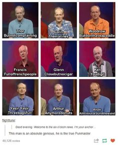 Whose Line is it Anyways is an iconic show and everybody needs to watch jt Funny Cute, The Funny, Hilarious, Tumblr Funny, Funny Memes, Whose Line, Bae, My Guy, Just For Laughs