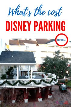 What's the cost of parking at walt disney world resort hotels
