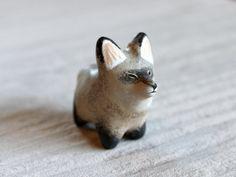 Bat-eared fox pocket totem figurine. $42.00, via Etsy.