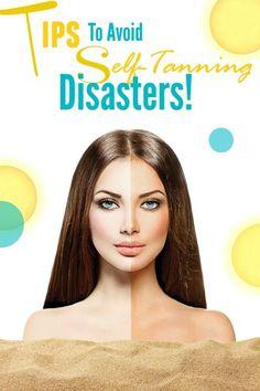 Health And Beauty Tips, Beauty Make Up, Diy Beauty, Beauty Hacks, Natural Tanning Tips, Natural Oils For Skin, Tan Removal, Loose Skin, Hair Makeup