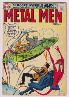 Metal Men; Vol 1, 3, Silver Age Comic Book. VG+ (4.5). September 1963. DC Comics #metalmen #silveragecomics #comicsforsale