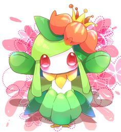 Lilligant you are so cute!!!!!