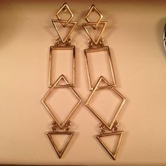 9027617c9f5 3.50 quid depop Dangly long Earrings Never worn