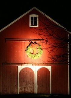 {Decorated barn}