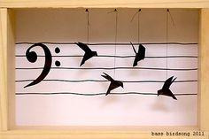 Bass Origami Birdsong by Jen Allison